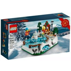 Lego Ice Skating Rink Set